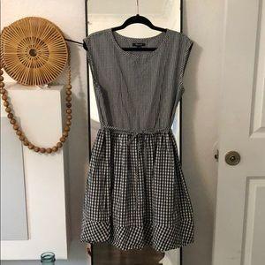 Madewell gingham dress